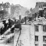 Jacques Louis Daguerre, Boulevard du Temple, Parigi
